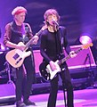 Keith Richards, Mick Jagger performing with Rolling Stones at Prudential Center 2012-12-13.jpg