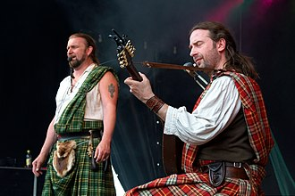 Celtic music - Rapalje performing in 2010