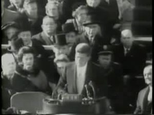 Kennedy inauguration footage