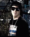 """Kevin Rudolf on the set of his video for """"I Made It"""".jpg"""