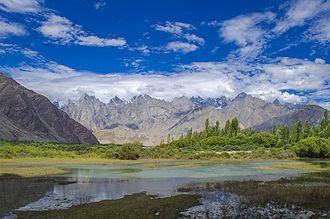 Khaplu - Khaplu lies at the base of the Karakoram Range.