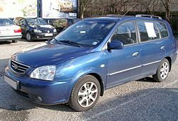 2003 Kia Carens (Europe)