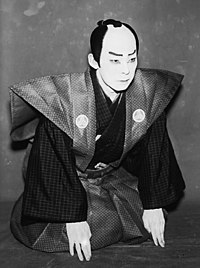 Kichiemon Nakamura I as Takebe Genzō.jpg