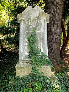 Raphael Georg Kiesewetters Grab im Gräberhain des Währingerparks (Quelle: Wikimedia)