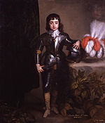 King Charles II by Sir Anthony Van Dyck and studio.jpg