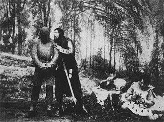 King John (1899 film) - Image: King John (1899) Act 1, Scene 5 (FF3.3)