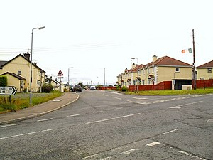 Whitecross, County Armagh - Image: Kingsmills Road at Whitecross geograph.org.uk 1528182