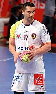 Macedonian handball player