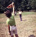 Kite, flying a kite, colorful Fortepan 60629.jpg