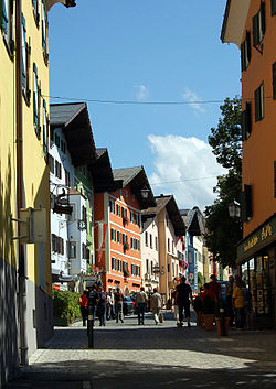 Kitzbühel in mid-August 2008
