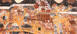Kiyomizudera Sankei Mandala detail