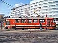 Klapkova, zastávka Kobylisy, měřicí vůz 5521.jpg