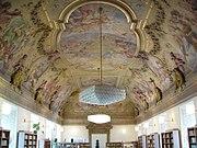 Klaster Hradisko - knihovna
