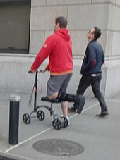 Knee Scooter Wikipedia