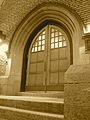 Knowles-Douglas Student Union building, door.jpg