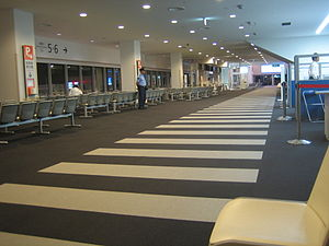 Kobe Airport - Passenger concourse