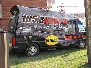CFCA-FM - View of one of the Kool FM remote vehicles