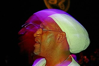 Hip hop - DJ Kool Herc is a pioneer in developing hip hop music.