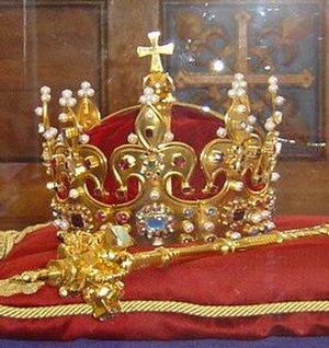 Polish Crown Jewels - Crown of Bolesław I the Brave