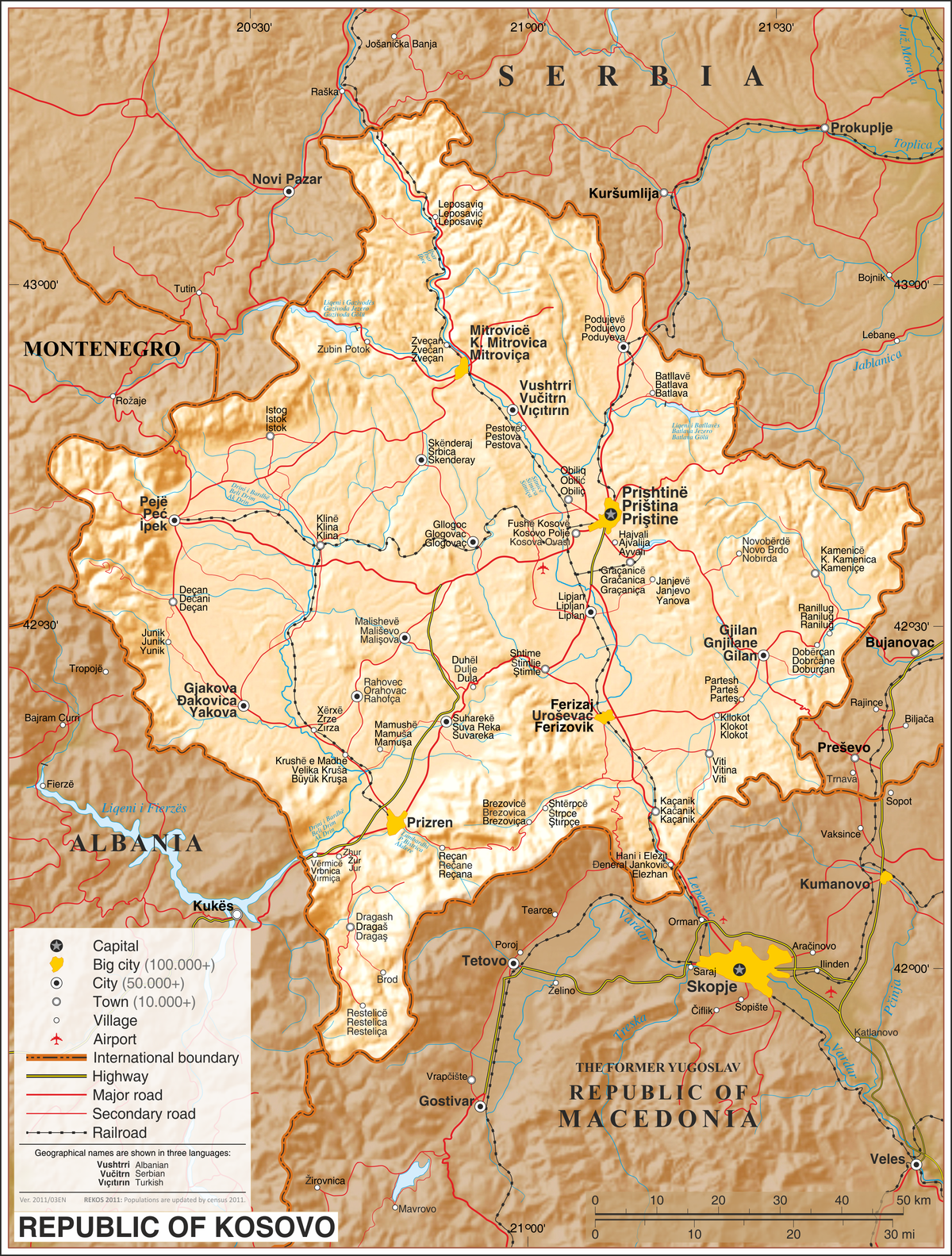 Geography of kosovo wikipedia publicscrutiny Choice Image