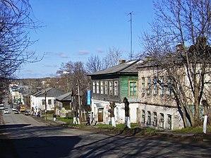 Kotelnich - Image: Kotelnich. Near Sovetskaya & Svoboda Streets crossing