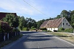 Haus an der Straße