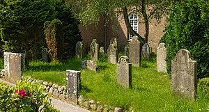 Talking Gravestones of Föhr - The cemetery of Boldixum