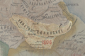 Kurinskoe khanstvo in the Map of Caucasus with the borders 1801-1813.png