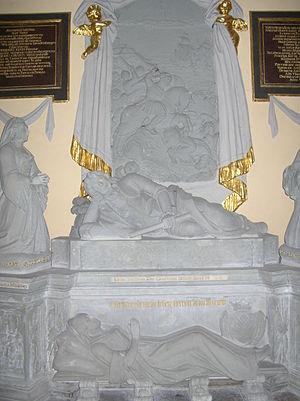 Otto Friedrich von der Groeben - Epitaph of Otto Friedrich von der Groeben at Kwidzyn Cathedral