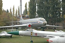 Kyiv Aviation Museum 2009 Tu-104.jpg