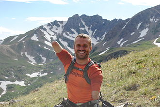 Kyle Maynard - Image: Kyle Maynard on Mountain