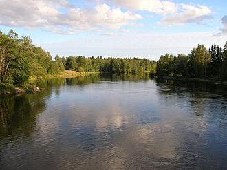Kymenlaakso - Image: Kymijoki 1