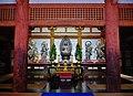Kyoto Daigo-ji Kondo (Haupthalle) Innen Altar 1.jpg