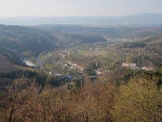 Kyselka Municipality in Karlovy Vary, Czech Republic