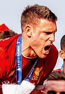 James Milner English association football player