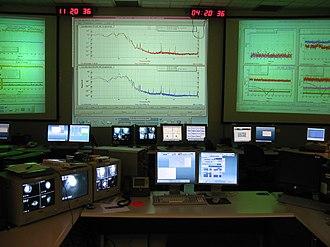 Gravitational-wave astronomy - The LIGO Hanford Control Room