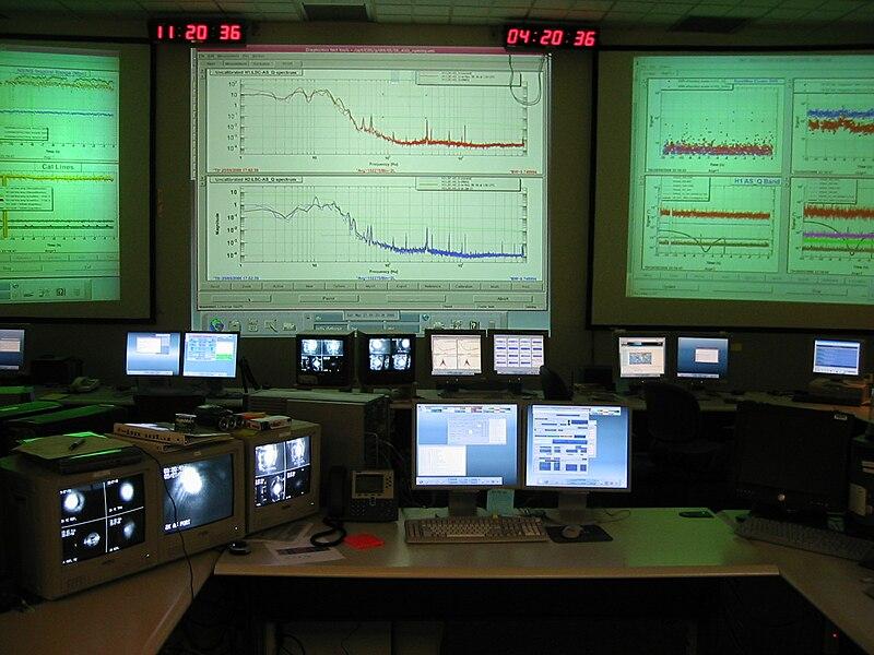 LIGO Control Room
