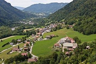 La Balme-de-Thuy Commune in Auvergne-Rhône-Alpes, France