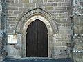 La Feuillade église portail.JPG