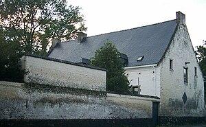La Haye Sainte - La Haye Sainte as seen from the road.