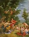 La Moisson - Cérès enseigne l'agriculture au roi Triptolème dont elle nourissait le fils.jpg