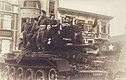 La Panne Belgie 1945