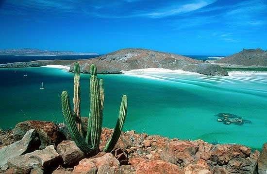 La Paz coastline