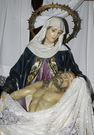 English: La Piedad.