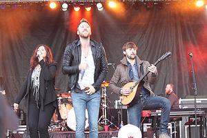 Lady Antebellum si esibisce nel dicembre 2012