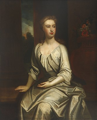 Lady Betty - A portrait painting of Lady Betty by Godfrey Kneller