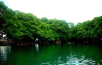 Lago de Camécuaro National Park - Lake Camécuaro in Lago de Camécuaro National Park, May 2011