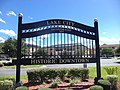 Lake City Historic Downtown sign.JPG