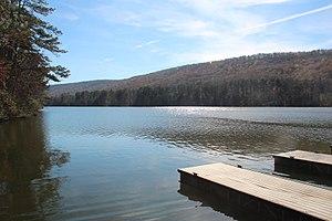 Lake Marvin - Image: Lake Marvin, Floyd County, GA Nov 2017 1