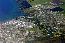 Lake Taupo and Waikato River aerial view.jpg